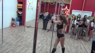Pole dance Exotic в школе танцев Study-On, Челябинск, 2017