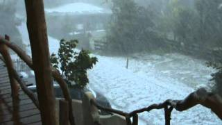 preview picture of video 'Unwetter mit Hagel am 06.06.2011 in Bachern am Wörthsee'