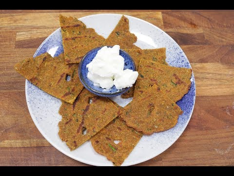 Carrot and Cabbage Thalipeeth | Recipes Under 15 Minutes | Chef Jaaie | Sanjeev Kapoor Khazana