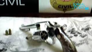 Prisão em Flagrante por Posse Irregular de Arma de Fogo