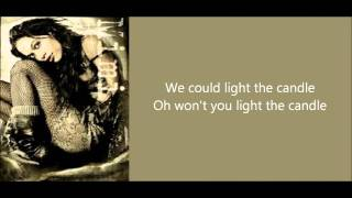 Rent - Light My Candle (lyrics on screen)