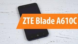 Распаковка ZTE Blade A610C / Unboxing ZTE Blade A610C