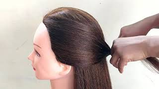 Easy Braided Hairstyles Hairstyles For UPDO || MEDIUM TO LONG HAIR HAIRSTYLE || EASY HAIRSTYLE