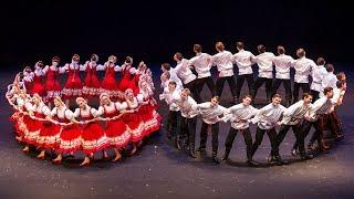 """Русский танец """"Лето"""". Балет Игоря Моисеева."""