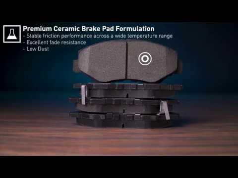 FRONT SET R1CONCEPTS CERAMIC BRAKE PADS ADVANCED COMPOUND SK99924