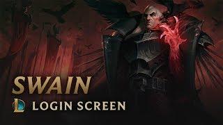 Swain, the Noxian Grand General | Login Screen - League of Legends