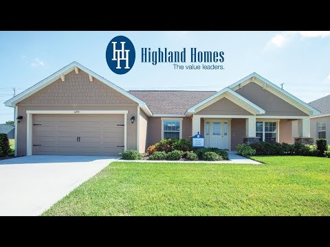 Ryleigh home plan by Highland Homes - Florida New Homes for Sale