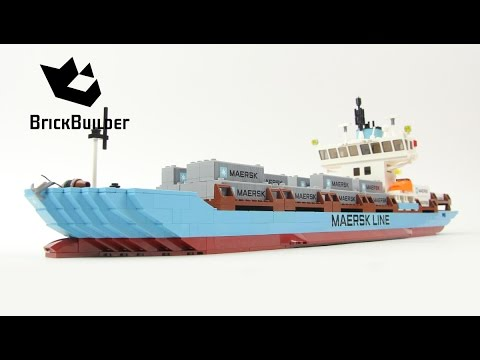 Vidéo LEGO Creator 10155 : Maersk Line Container Ship