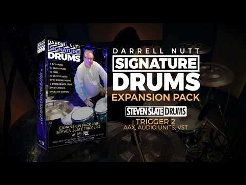 Darrell Nutt Signature Drums for Steven Slate Trigger 2 Plug-In