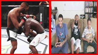 UFC 197 - Jon Jones vs Ovince St Preux  - EA SPORTS UFC 2 ft. Juice & Trent