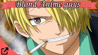 Top 20 Blond Anime Guys 2015