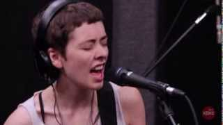 "Those Darlins ""Oh God"" Live at KDHX 8/9/13"