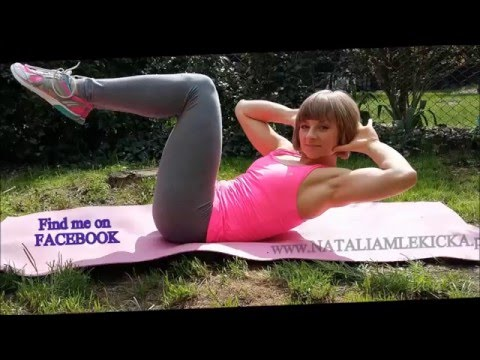 Ćwiczenia pompować mięśnie pośladków
