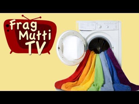 Richtig Wäsche waschen - Frag Mutti TV