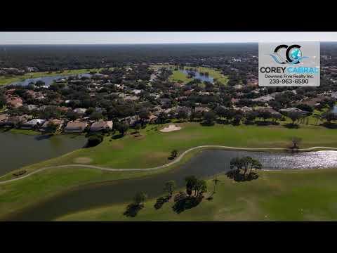 Vineyards Golf & Country Club Naples FL 360 Aerial Real Estate Homes & Condos
