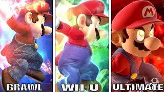 Evolution Of Final Smashes In Super Smash Bros Series (Comparison)