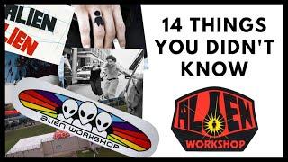 ALIEN WORKSHOP: 14 Things You Didn't Know About Alien Workshop Skateboards