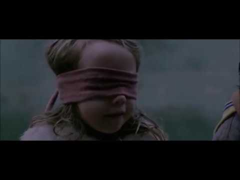 bird box 2018 terrifying scene of a girl