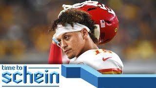 Patrick Mahomes and Lamar Jackson set to face off in Week 3 | Time to Schein