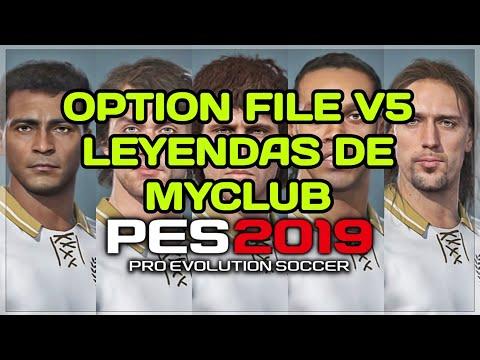 OPTION FILE PES 2019 ( PS4 ) !! EQUIPOS CLASICOS DE LEYENDAS