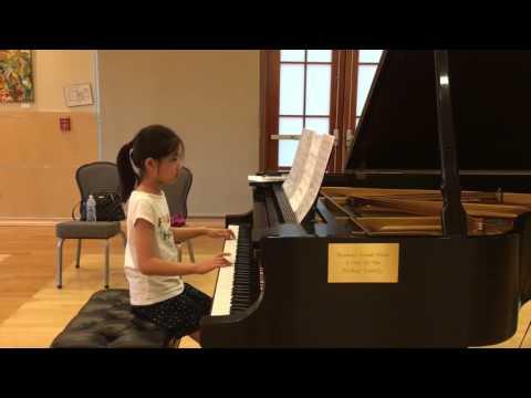 Prepping for Spring Recital  Virginia 2016