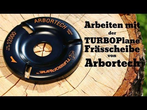 Arbortech TurboPlane Frässcheibe für grobes und feines schnitzen