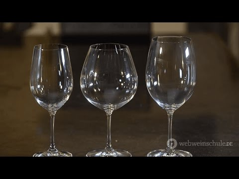 Weinschule Folge 53: Weingläser