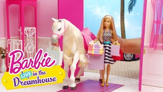 Babski dzień | Barbie LIVE! In The Dreamhouse | Barbie Polska