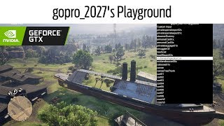 MOD MENU gopro 2027s Playground  GTX Nvidia  Red Dead Redemption 2