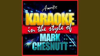 This Heartache Never Sleeps (In the Style of Mark Chesnutt) (Karaoke Version)