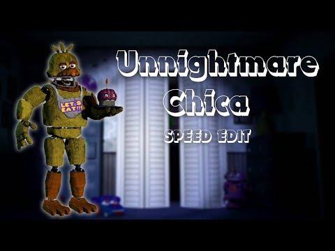 Fnaf Speededit Unwithered Animatronics   Five Nights At
