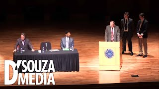 "Debate: D'Souza Vs. Christopher Hitchens On ""Does God Exist?"""