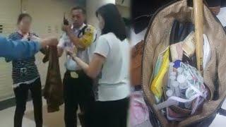 Video Pedagang Dibius Wanita saat ke Toilet, di Tasnya Ada Etanol, Hamer, Suntikan hingga Pisau