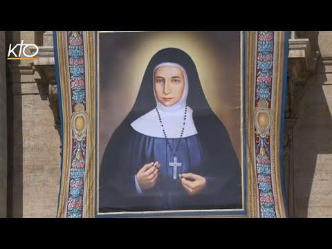 La canonisation de Jeanne-Emilie de Villeneuve