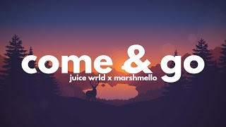 Juice WRLD, Marshmello - Come & Go (Clean - Lyrics)