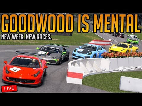Gran Turismo Sport: Racing At Goodwood is Mental   New Weekly Races