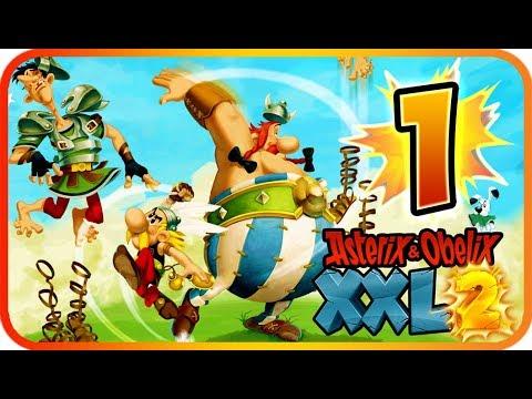 Asterix & Obelix XXL 2 Walkthrough Part 1 Remaster (PS4, XB1, PC, Switch) Lutetia