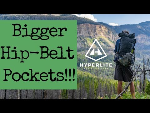 Hyperlite Mountain Gear Review – Windrider 3400 with BIGGER HIP-BELT POCKETS!!!