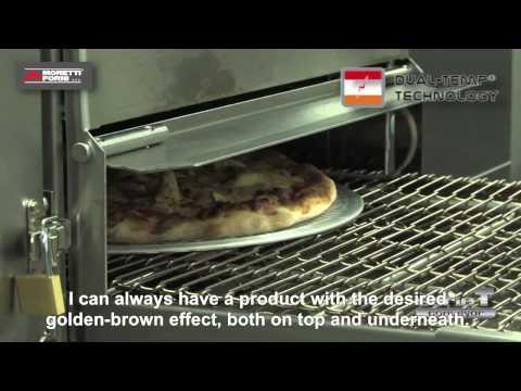 video 1, Four convoyeur Elec. tapis 40.6 cm 25pizzas/Heure