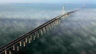 Китайцы Творят ЧУДЕСА! Мост в Ханчжоу! Дискавери документальные фильмы
