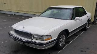 Electrical Gremlins Possesed this Buick Park Ave