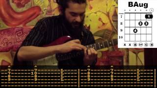 Teoman - Uykusuz Her Gece Gitar Dersi - SOLO, AKOR Ve TAB -