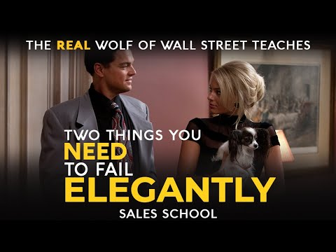 Two Things You Need to Fail Elegantly | Free Sales Training ...