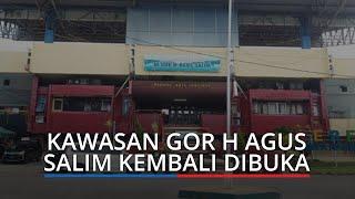 Kawasan GOR H Agus Salim Padang Kembali Dibuka, Sabtu dan Minggu Boleh Olahraga dan Dagang