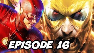 The Flash Season 5 Episode 16 - New Villain TOP 10 WTF and Final Crisis Easter Eggs