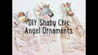 Live, DIY Christmas Ornaments & Decor/Shabby Chic Angel Ornaments