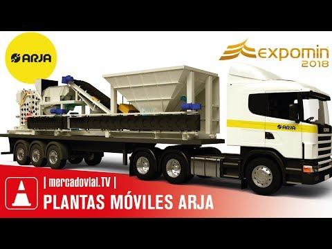 Plantas Trituradoras Moviles ARJA Lemming Crushers | Garelo Maquinarias | Expomin 2018