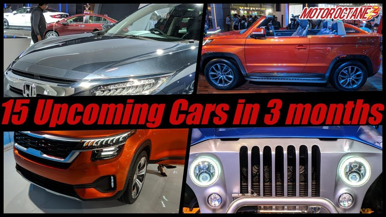 Motoroctane Youtube Video - 15 Upcoming Cars in India in next 3 months | Hindi | MotorOctane