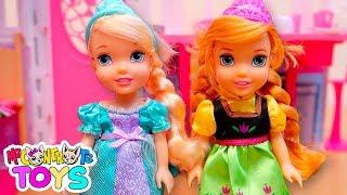 LE SORELLE DI SOFÌ! - Elsa e Anna tornano da scuola - Me contro Te Toys