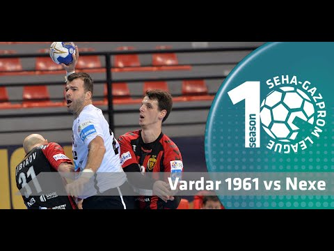 Vardar 1961 & Nexe play out EXCITING match in Skopje! I Match highlights